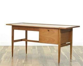 Drexel By Kipp Stewart Mid Century Modern Keyhole Desk