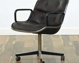 Knoll Pollock Mid Century Industrial Conference Chair