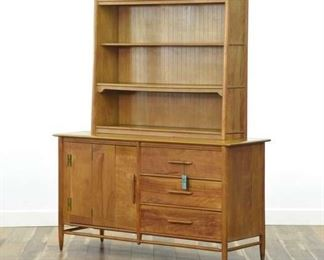 Cushman Shaker Style China Hutch Sideboard Cabinet
