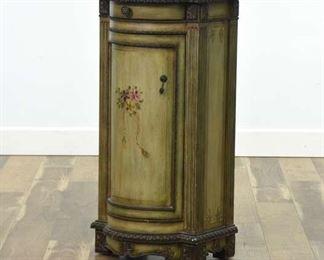 Pulaski Tuscan Style Painted Cabinet