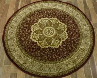 Persian Weavers Round Medallion Area Rug