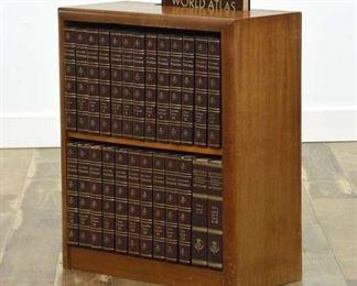 Encyclopedia Britannica Vintage Set W/ Bookcase