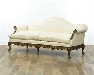 Bottaro Skolnick Empire Revival Paw Foot Sofa