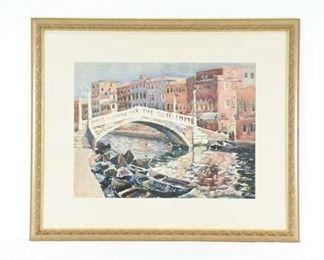 Plein Air Venetian Canal