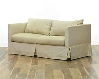 Karpen Contemporary Striped Sleeper Sofabed