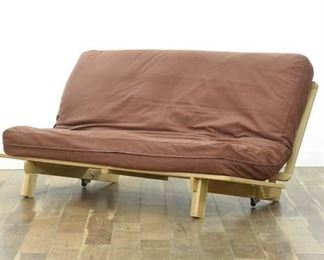 Slat Convertible Futon W Cushion, Full