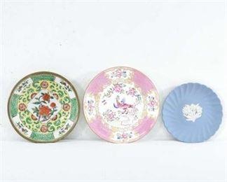 Set Of 3 Mix Lot Wedgwood & Small Plates