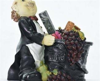 Mix Lot Vintage Butler Wine Cady W Utensils