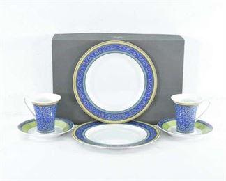 Set Of 6 Rosenthal Kusumam Pattern Luncheon Set