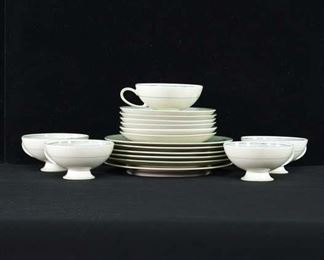 Set Of 17 Rosenthal Teacups Saucers Plates Bowls