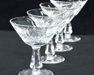 Set Of 12 Glass Dessert Stemware