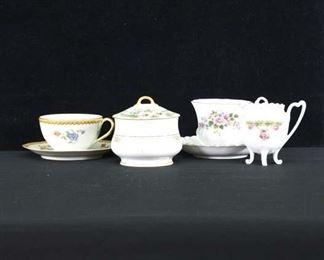 Set Of 6 Mix Lot Porcelain Dishware
