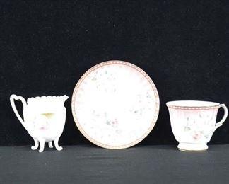 Set Of 3 Mix Lot Porcelain Dishware