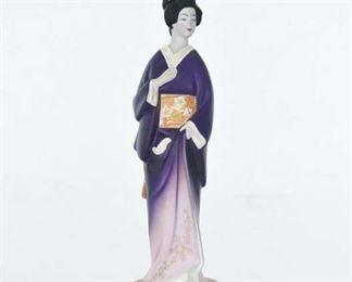 House Of Koshu Plum Wine Asian Maiden Figural Bottle