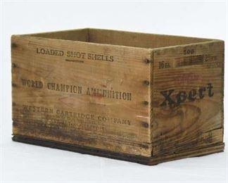 Xpert Vintage Rustic Ammunition Box