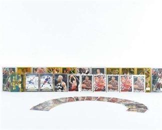 Set Of 38 Basketball & Hockey Trading Cards