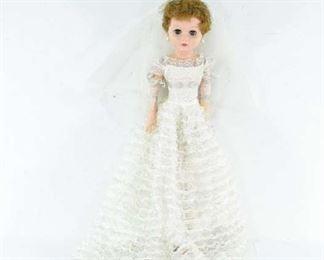 Vintage Wedding Day Doll