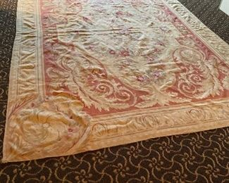 One of many Aubusson rugs