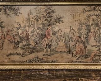 Victorian wall hanging  tapestry