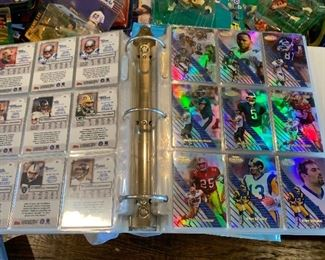 Thousands of sports card collections