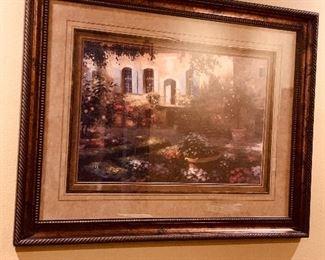 From Artisons Gallery Santa Cruz Beautiful professional mounting