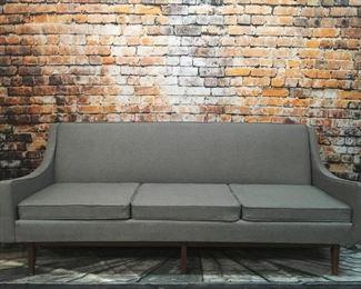 Vintage gray sofa