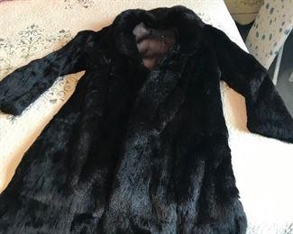 Very nice Rabbit Fur coat - excellent condition
