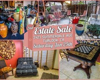 2nd estate sale modesto summerdale
