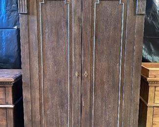 Restoration Hardware armoire
