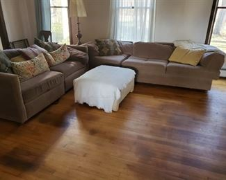 Family room Set with ottoman