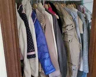 Clothing throughout