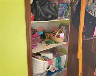 closets packed