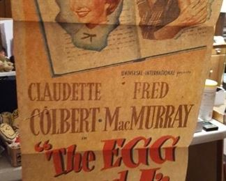 """""""The Egg and I"""" movie poster"""