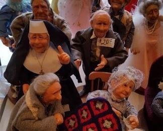 """Nanna's Friends"" by Richard Simmons dolls"