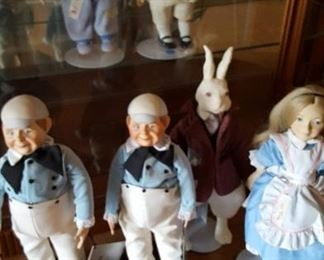 Large collectible dolls