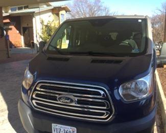 Ford 2016 Transit Passenger  Van $21,000.  87,000 miles