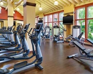 Complete life fitness gym in excellent condition...see pics below