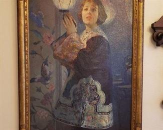 Original Oil Alexander Mastro Valerio 1887-1953