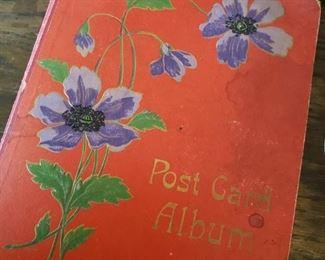 Post Card Scrap Book