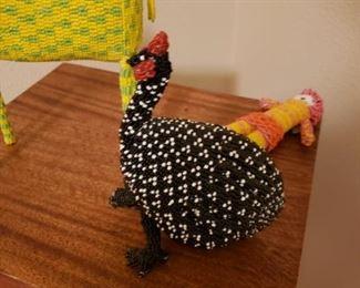 Beaded Hen