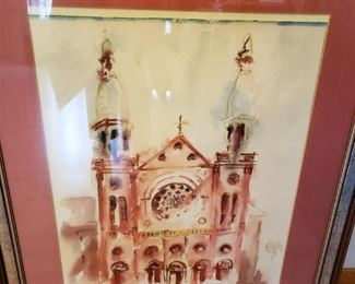 Signed Original Water Color - Maker to come