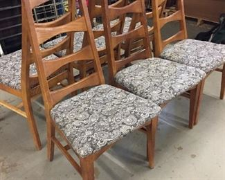 mid mod dining chairs