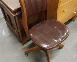 antique rolling chair