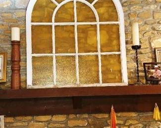 Vintage Arch Window