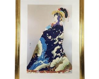 "Lot 004 HARUYO ""Yugiri"" Limited Edition Serigraph"
