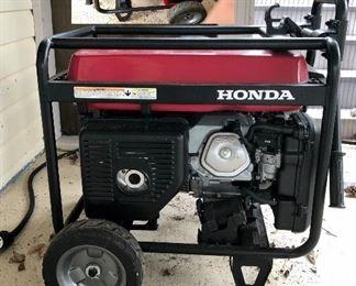Honda EM 6500SX Generator, 120V/240V