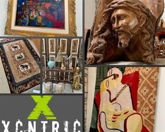 Eclectic World Traveler Oak Brook Estate Sale by Xcntric Estate Sales.