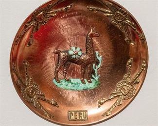 Peruvian Copper Plate