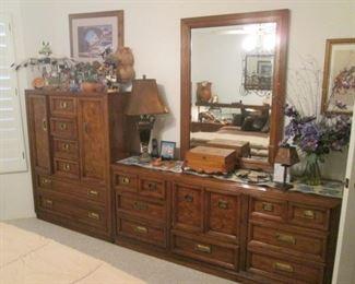 GUEST BEDROOM:  Man's Chest, Dresser/Mirror