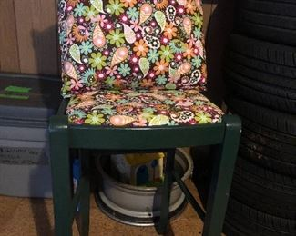 Barstool height chair